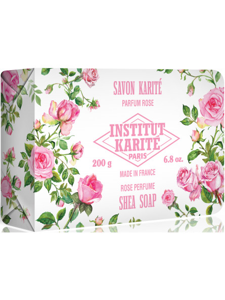 Savon Karité 200 g Rose Mademoiselle