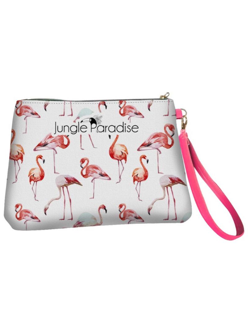 Petite trousse Flamingo