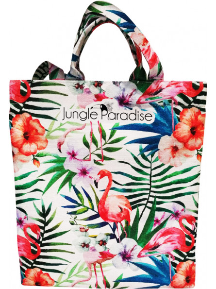 Tote Bag Jungle Flowers