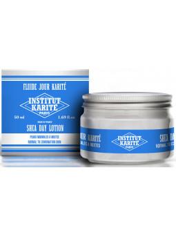 Fluide Jour Karité - Peaux Normales à Mixtes 50 mL - Crème de Lait