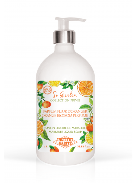 Savon Liquide de Marseille  So Garden - Fleur d'Oranger 1 L